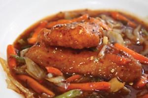 Ossie-Recipe Card -orange-BBQ-halibut-cedarhurst